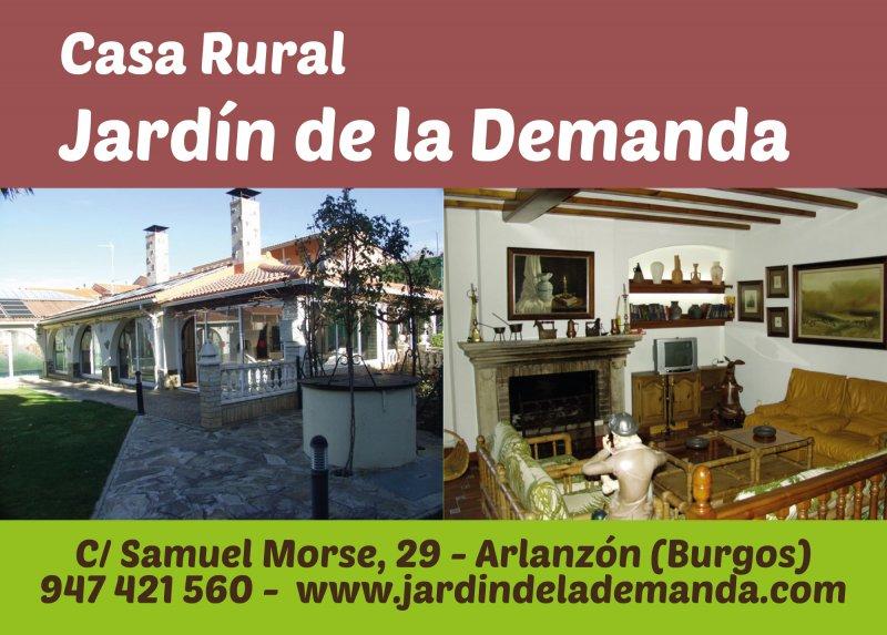 Casa rural jard n de la demanda qu hacer cotur for Casa rural casa jardin